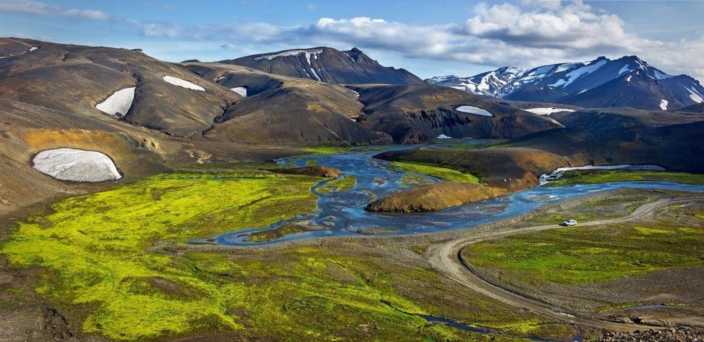 נופים באיסלנד